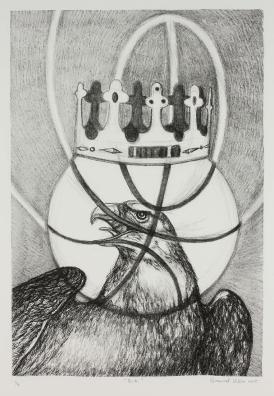 """B.K."" Gabriel Villa Lithograph 22x29'' Edition of 4 $150 unframed/$250 framed"